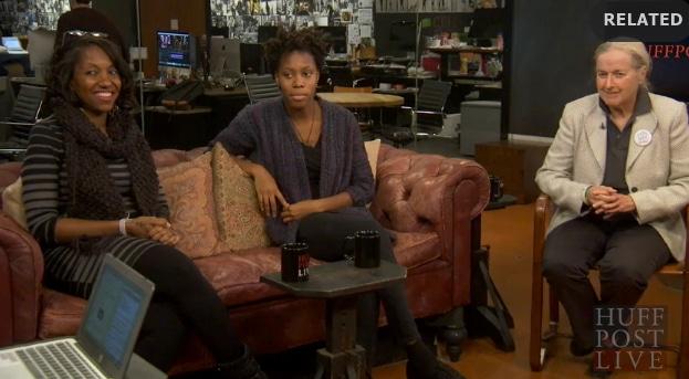 Huffington Post Live talks to Naimah, Ashley and Mary Keane!